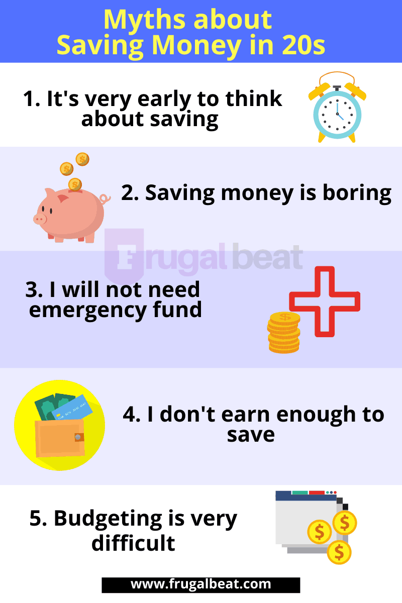 How to save money in your 20s?