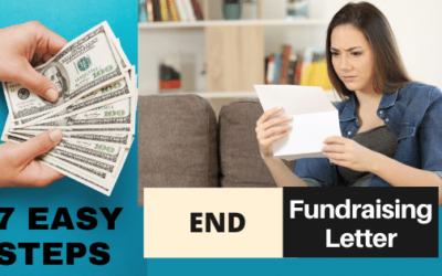 How to End a Fundraising Letter? 7 IMPORTANT STEPS that You Should Not Miss