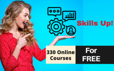 How to Learn New Skills Online for Free? – 330 FREE ONLINE COURSES to Upskill Yourself