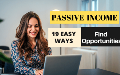 How to Find Passive Income Opportunities Online? – 19 EASY WAYS that I Tried