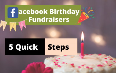 How to Fundraise from Facebook on Your Birthday? – The Easiest 5 Step Procedure